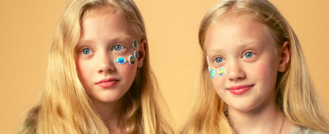 Identical twins often don't share 100% of their DNA